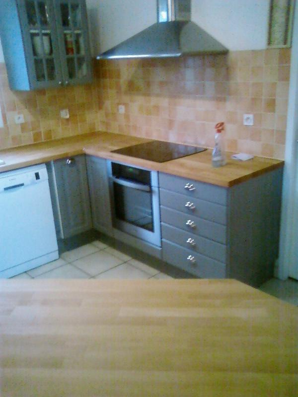 R novation d 39 une cuisine artisan charpente menuiserie for Cout d une cuisine