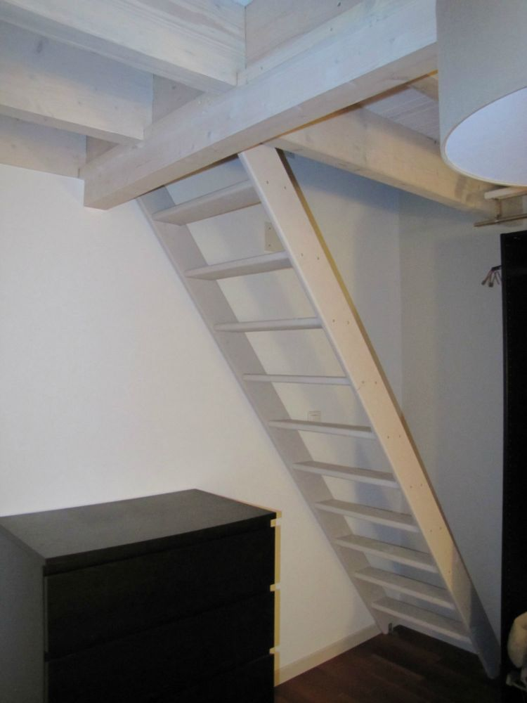 R novation d 39 une chambre mezzanine artisan charpente menuiserie - Amenagement chambre mezzanine ...
