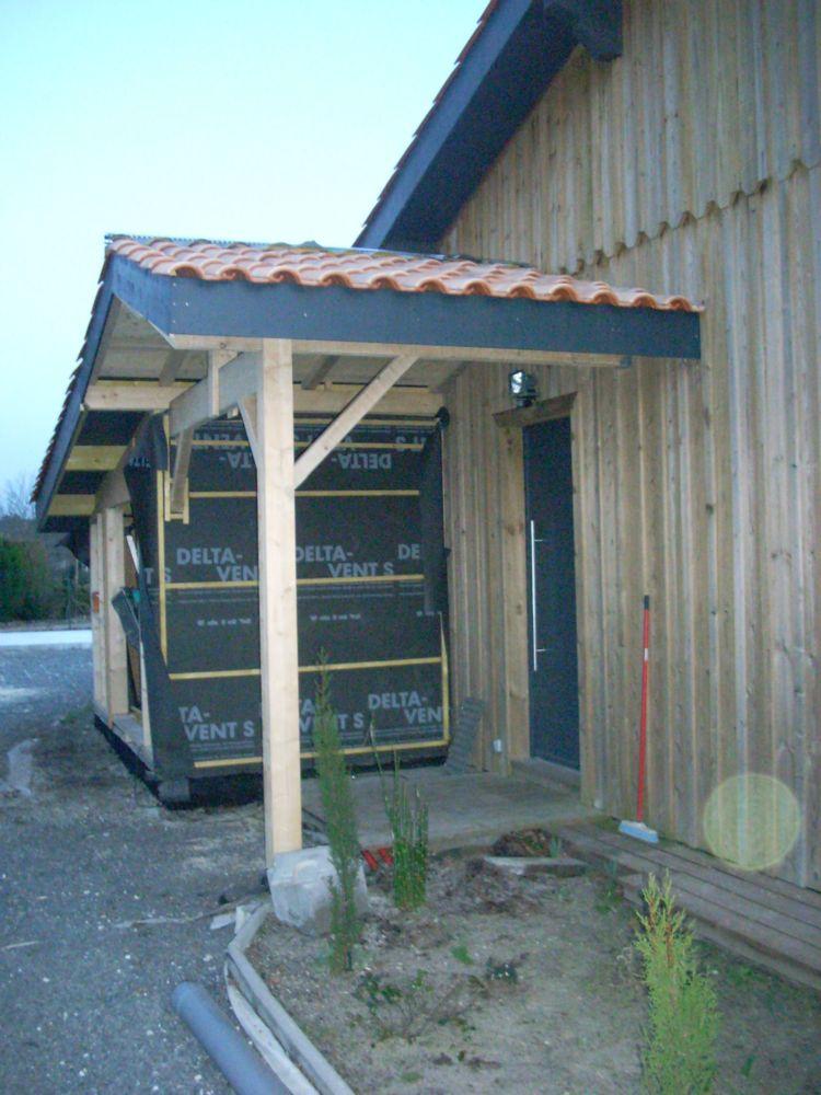 Agrandissement en ossature bois artisan charpente menuiserie Agrandissement en bois