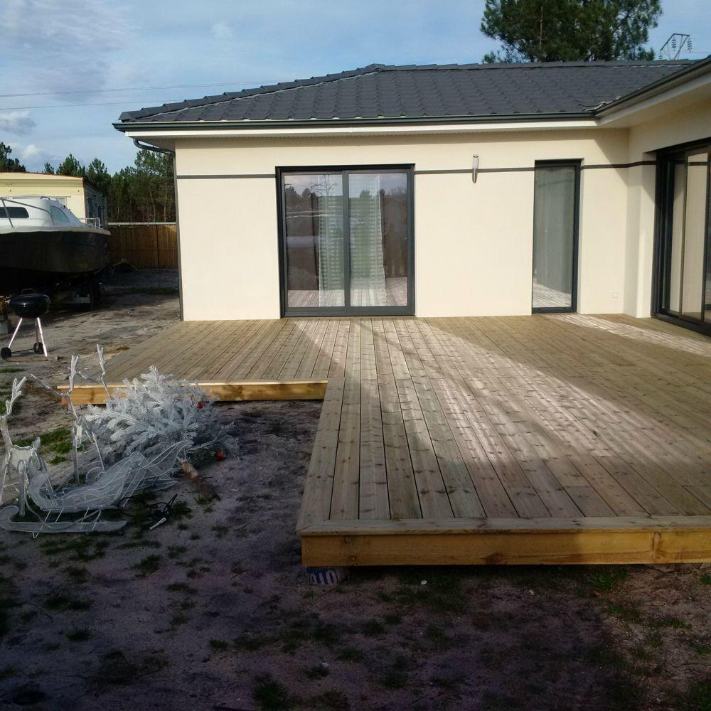 terrasse bois pin sylvestre artisan charpente menuiserie. Black Bedroom Furniture Sets. Home Design Ideas