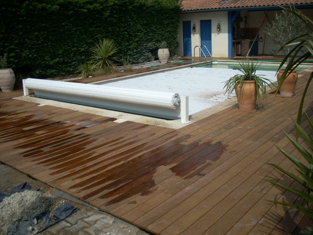 Terrasse En Ip Autour D 39 Une Piscine Artisan Charpente