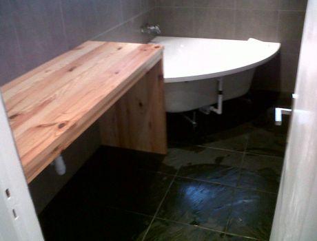 meuble de salle de bains sur mesure artisan charpente menuiserie. Black Bedroom Furniture Sets. Home Design Ideas